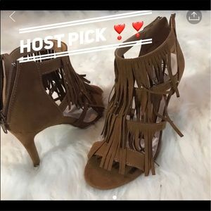 Raleigh Shoes - 🎁BRAND NEW RALEIGH FRINGE HEELS